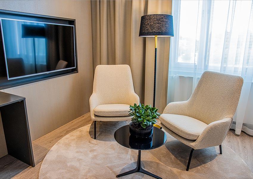 Hotel Mattsin Junior Suite.