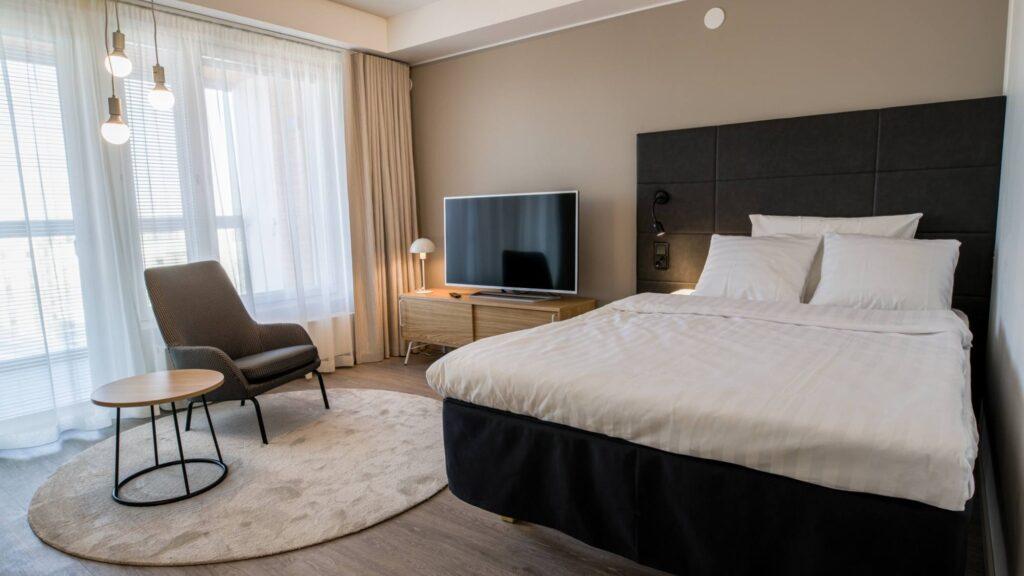 Hotel Matts huoneisto, yksiö.