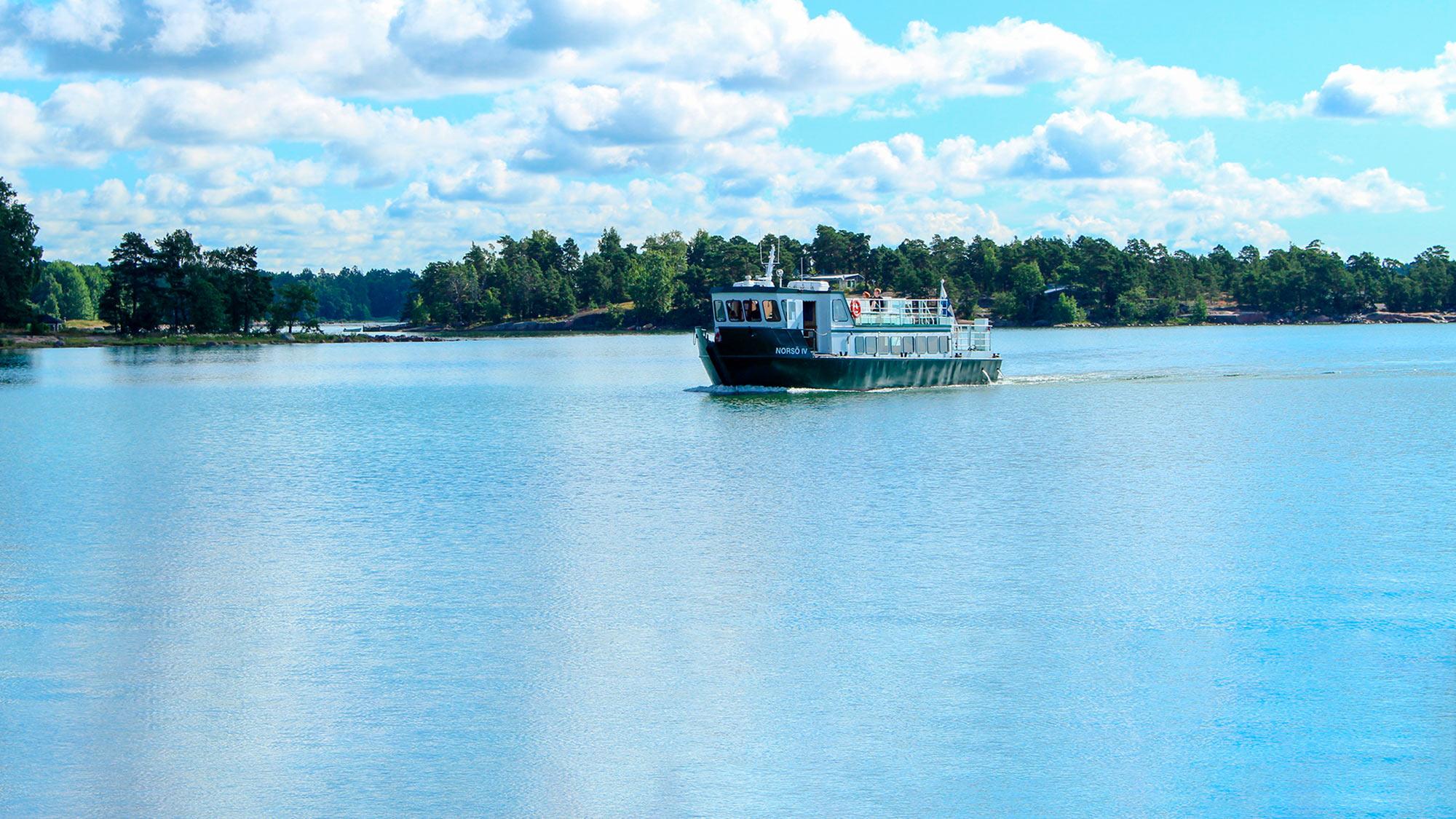 Espoossa on paljon nähtävää ja koettavaa, lähde vaikka meriretkelle Nokkalasta!