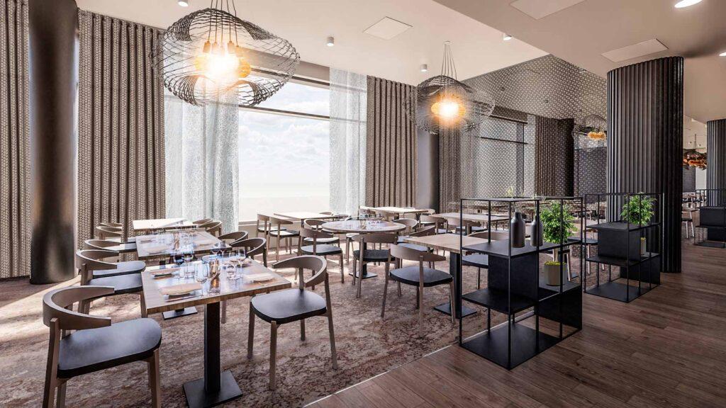 Ravintola Freja on uusi rennon tyylikäs ravintola Espoossa Hotel Mattsin katutasossa.
