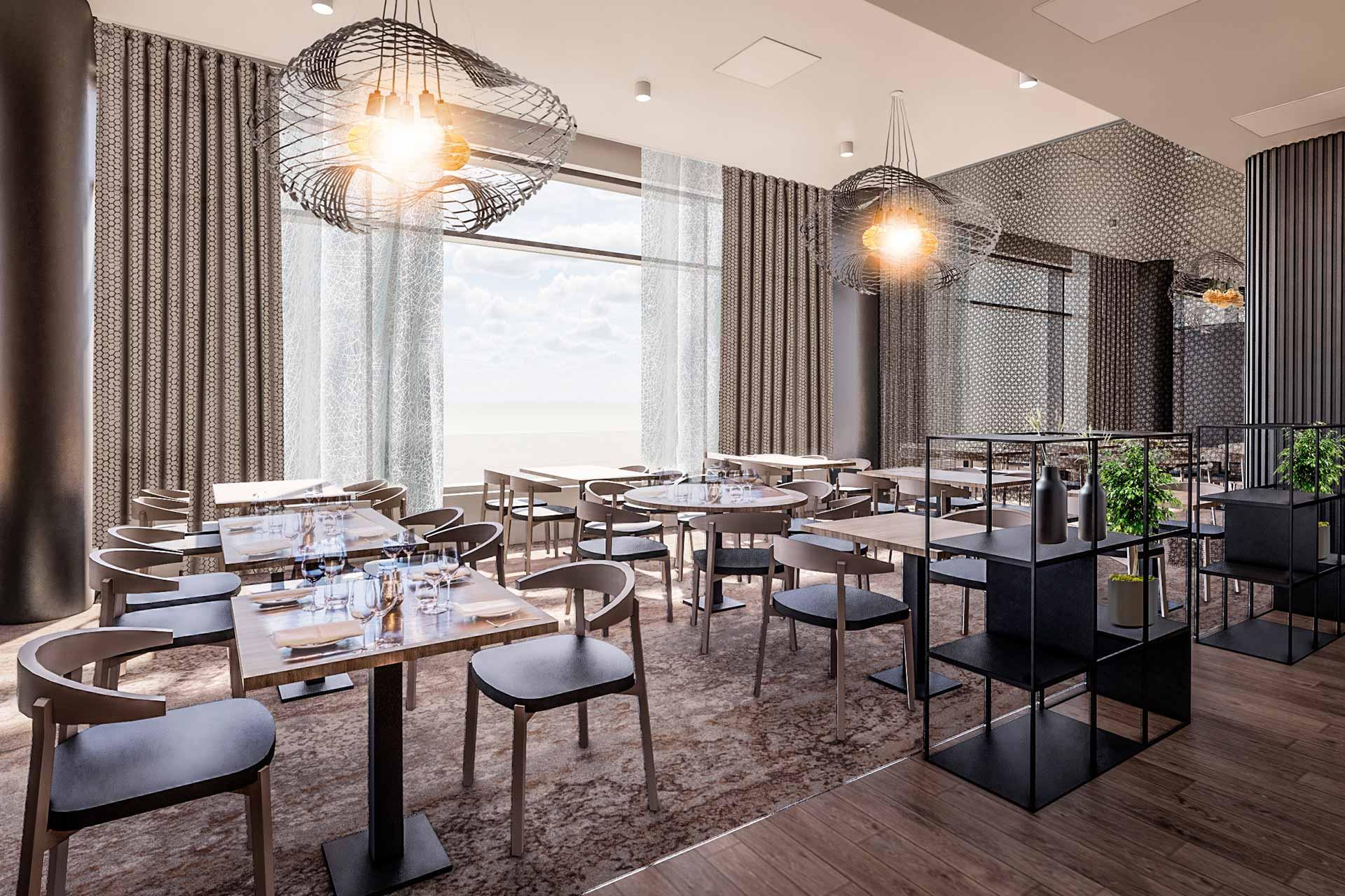 Rennon tyylikäs ravintola Freja aukeaa Espooseen loppuvuodesta 2020 Hotel Mattsin katutasoon.