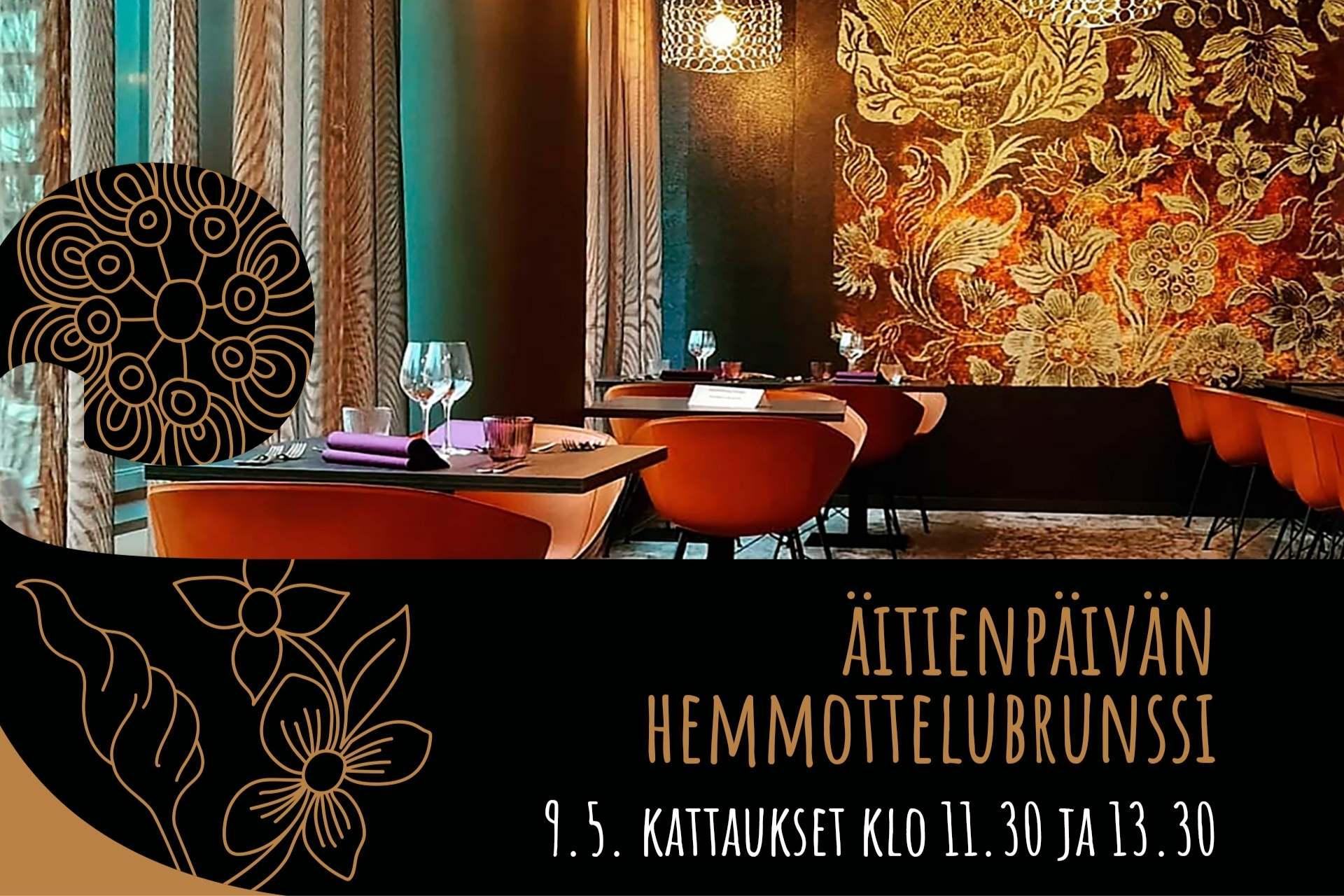 Ravintola Frejassa tarjoillaan äitienpäiväbrunssi 9.5.2021