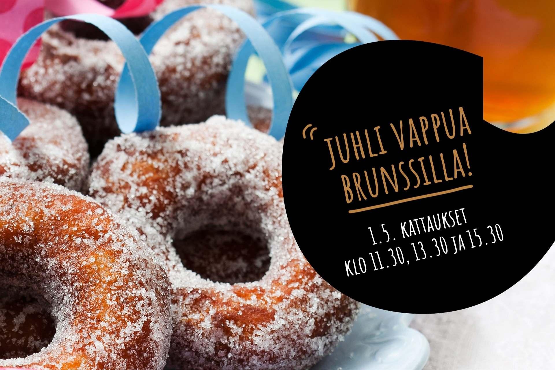 Espoon ravintola Frejassa tarjoillaan vappubrunssia 1.5.2021