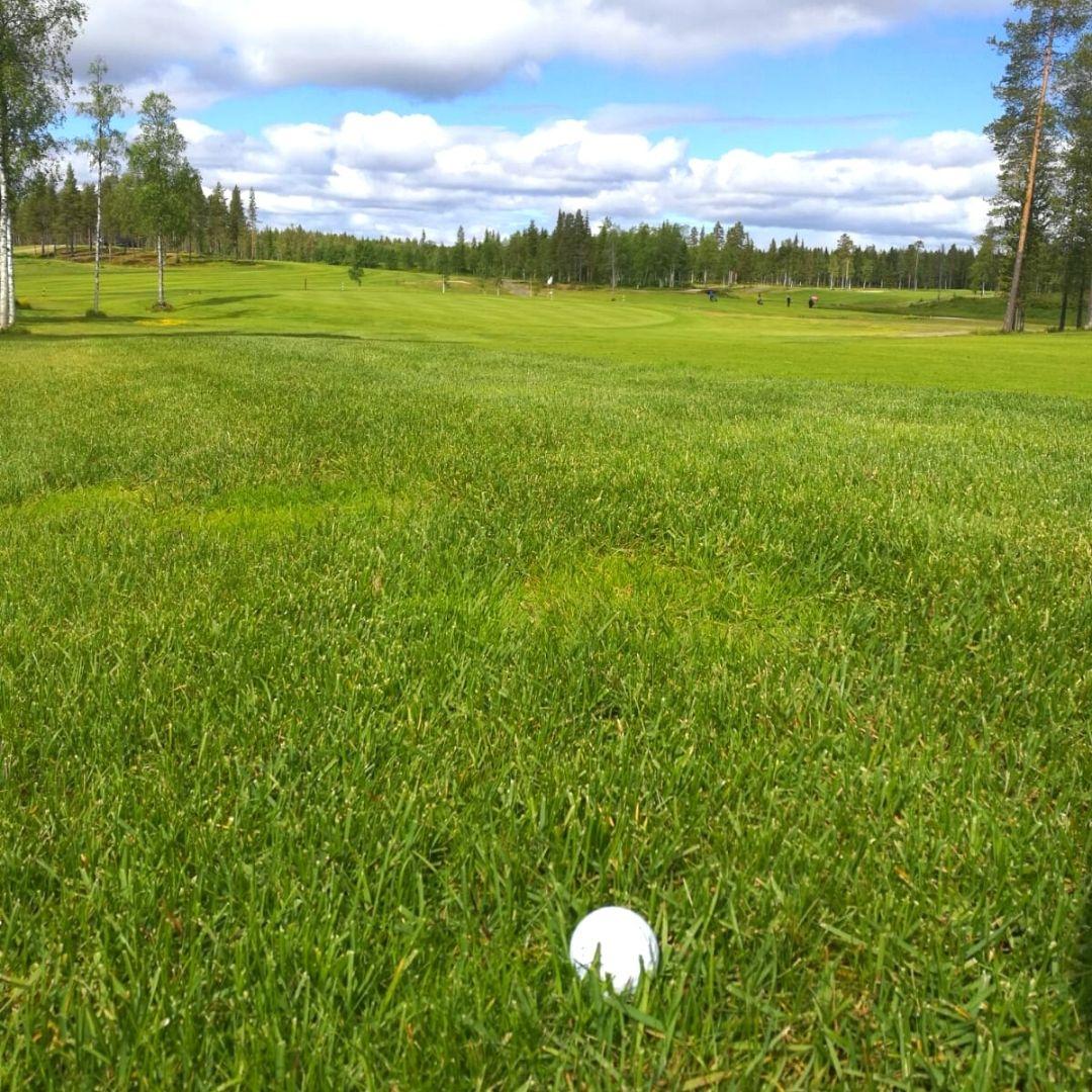 Golfpallo odottaa vihreällä kentällä Espoossa!