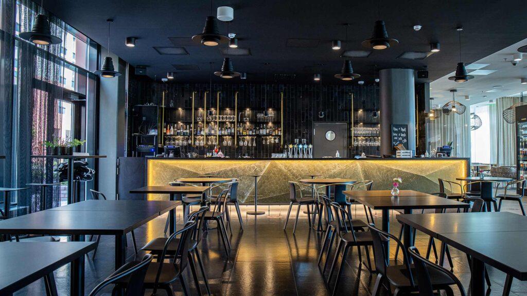 Hotel Mattsin ravintola Frejan baari.