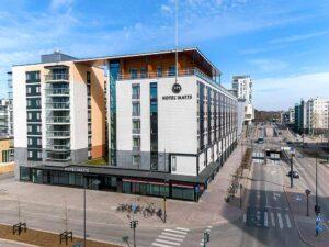 Hotelli ja huoneistohotelli Hotel Matts Espoon Matinkylässä.